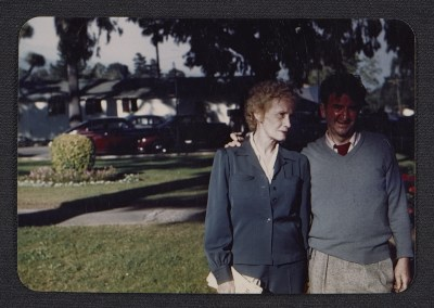 Bettina Bedwell and Abraham Rattner