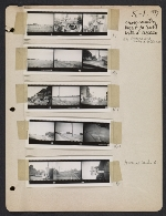 [Abraham Rattner cross country travel photographs page 1]