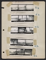 [Abraham Rattner cross country travel photographs page 4]