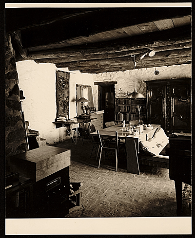 [Interior of Ruth Reeves' home]