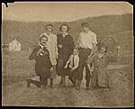 Henry Poor, Marion Dorn, Morris Crawford's son, Winold Reiss, unknown woman, and Ruth Reeves