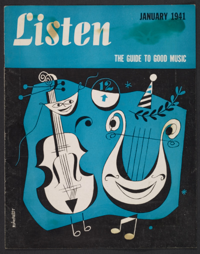 Cover of Listen; the guide to good music