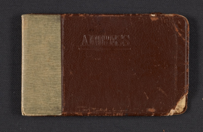 Ad Reinhardts address book