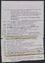 Ad Reinhardt draft chronology