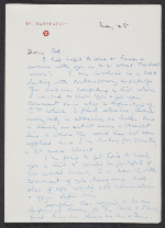 George Rickey letter to Ad Reinhardt