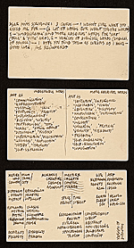 Ad Reinhardt, New York, N.Y. postcards to Katherine Scrivener, Washington, D.C.
