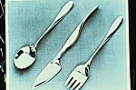 Sterling silver flatware, in the
