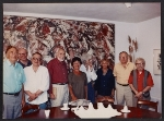 [Group of artists at the Pollock-Krasner house ]