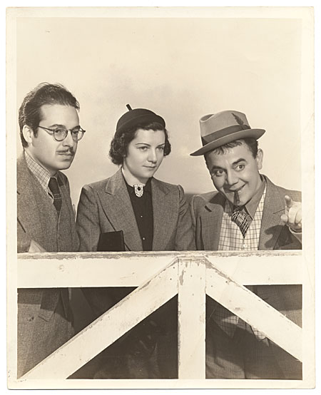 [Riverón w/ Jimmy Saro + ? Hollywood 1938]