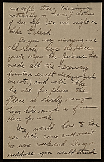 [Ethel May Klink Myers, Carmel, N.Y. letter to Mary Fanton Roberts 1]