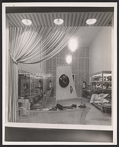 [The John-Frederics Miami store designed by T.H. Robsjohn-Gibbings]
