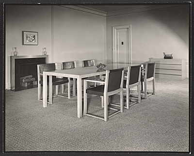 Hudson dining room designed by T.H. Robsjohn-Gibbings