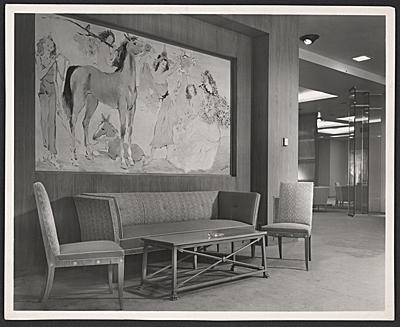 [Interior of Neiman Marcus designed by T.H. Robsjohn-Gibbings]