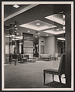 [Neiman Marcus coat salon designed by T.H. Robsjohn-Gibbings ]