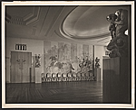 [River Club ballroom designed by T.H. Robsjohn-Gibbings ]