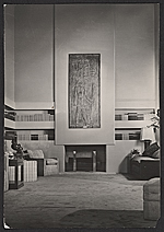 Annenberg living room designed by T.H. Robsjohn-Gibbings
