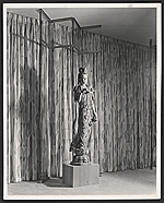 Detail of the Neiman Marcus dress salon designed by T.H. Robsjohn-Gibbings