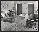 A bathroom designed by T.H. Robsjohn-Gibbings