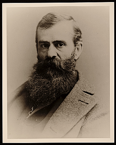 Photograph of Jervis McEntee, ca. 1865-1867