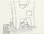 [Original drawings for the Marcel Breuer Coloring Book page 9]