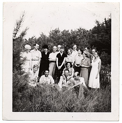 Group at Edward MacDowell Colony