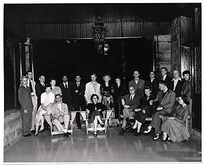 Artists at Yaddo 1953