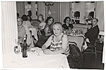Esther G. Rolick at the Captains Dinner aboard the SS Saturia.
