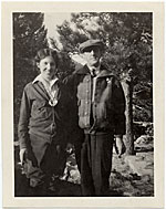 [Louise Rönnebeck and Marsden Hartley in Colorado ]