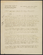 [Transcript of Hitler's orders to the Rosenberg Taskforce to seize cultural goods of value, translated from German to English verso 1]