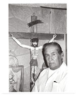 Leroy L. Trujillo with cross