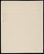[John A. Dix, Albany, N.Y. letter to Enos Throop verso 1]