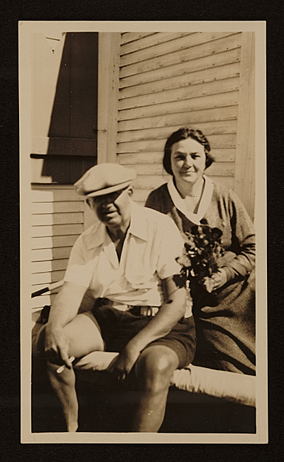 Edward Bruce and his wife Peggy Bruce