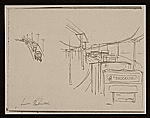 [Lewis W. Rubenstein sketchbook of hunger walk to Washington 4]