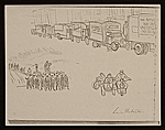 [Lewis W. Rubenstein sketchbook of hunger walk to Washington 13]