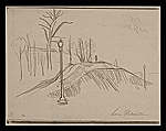 [Lewis W. Rubenstein sketchbook of hunger walk to Washington 17]