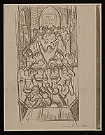 [Lewis W. Rubenstein sketchbook of hunger walk to Washington 26]