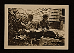 Ethel Pennewill Brown and Olive Rush reading outside