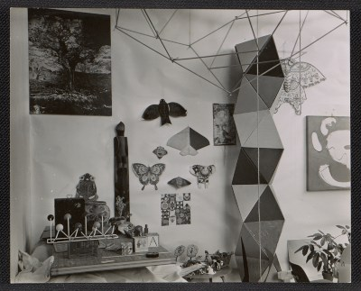 Interior decor at the Eames House