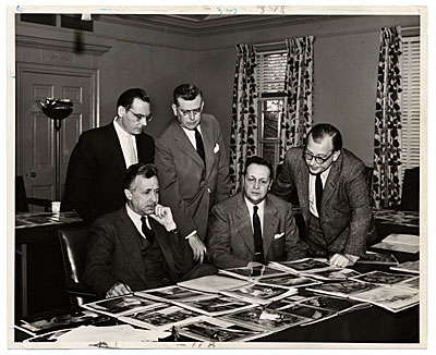 Eero Saarinen as a part of the Honor Award Jury