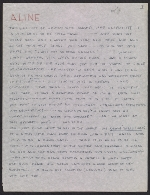 Eero Saarinen letter to Aline Saarinen