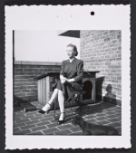 Aline B. Saarinen on rooftop