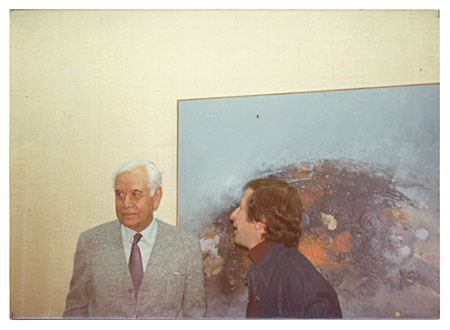 Rufino Tamayo with Baruj Salinas By Art