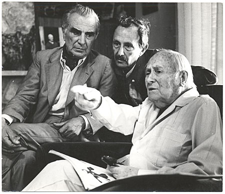 Miró, Franqui, and Carlucio
