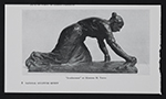 Reproduction of Scrubwoman by Mahonri M. Young clipped from National Sculpture Review