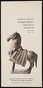 Selections from the Rudolph Schaeffer Collection of Oriental Art