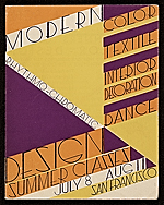 Modern Rhythmo-chromatic design Summer classes catalog