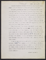 English translation of Alberto Giacometti letter to Peter Selz