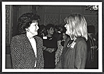 [Elizabeth Dole and Mary Shaffer in conversation ]