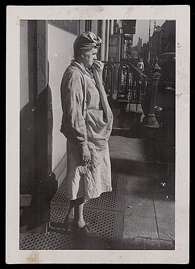 [Source material for Tribute to the American Working People.  Woman laborer]