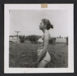 [Unidentified woman in a bathing suit ]